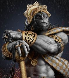 Art by Gaurav kumar LORD HANUMAN Hanuman is an ardent devotee of Lord Rama and one of the central characters in the various… Hanuman Photos, Hanuman Images, Hare Krishna, Hanuman Chalisa, Hanuman Tattoo, Ganesha Tattoo, Hanuman Ji Wallpapers, Mahakal Shiva, Durga Kali