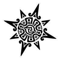 soleil Inca. symbole de puissance en Amérique du Sud.