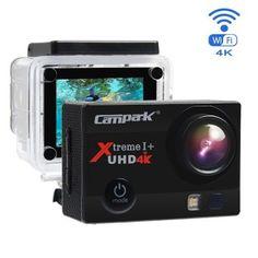 Cámara Deportiva 4k Wifi Ultra HD Resistente al agua por solo 59.99€  Esta cámara de acción grabará tus vídeos en 4K Ultra HD a 30 frames por segundo y capturará imágenes a 16 Megapixeles.    #Camara #campark #chollo #deportiva #oferta