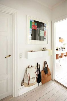 5 tricks to create an entrance in even the tiniest of spaces