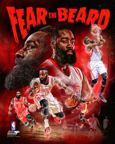 James Harden Fear The Beard