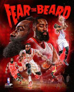 James Harden Fear The Beard