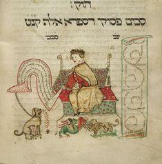 Pentateuch (the 'Coburg Pentateuch') with the Five Scrolls (Hamesh megillot)…