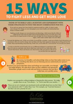 15 Ways To Fight Less And Get More Love