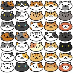 WALL OF CATS by vinylcroissant on DeviantArt