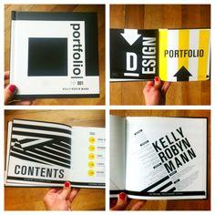 PORTFOLIO BOOK by KELLY ROBYN MANN, via Behance