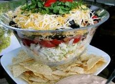 7 Layer Mexican Coleslaw