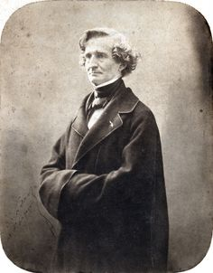 Nadar - Hector Berlioz, 1855
