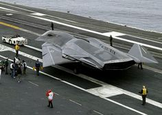 F/A-37 STEALTH on deck