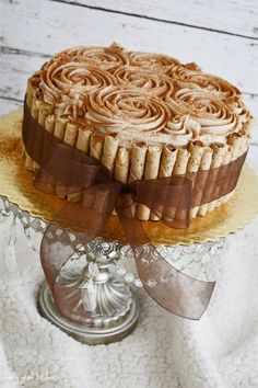 Snickerdoodle Cake - this is so pretty too!