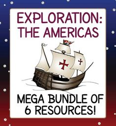 Six fantastic exploration resources at a discounted price.  Lots of variety, from task cards to graphic organizers to informational texts.