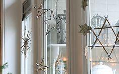 手作り吊るすクリスマス窓飾り