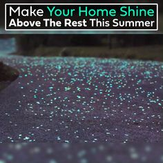 Our gorgeous night stones require no maintenance and give your home a beautiful touch that will shine above the rest. Perfect for your garden, walkways or driveway, get creative and use them anywhere around your home! Backyard Pool Designs, Backyard Landscaping, Home Decor Furniture, Diy Home Decor, Earth Bag Homes, Glow Stones, Star Night Light, Stone Walkway, Garden Quotes