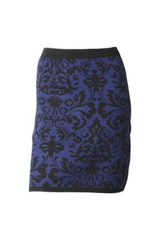 Max Baroque Knit Skirt
