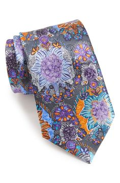 Ermenegildo Zegna Paisley Silk Tie available at #Nordstrom