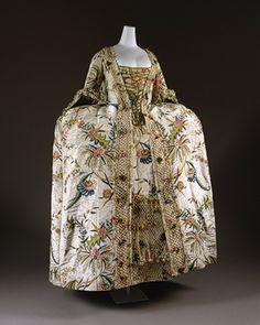 Dress (Robe à la française) [England; textile Dutch or German] (1995.235a,b)   Heilbrunn Timeline of Art History   The Metropolitan Museum of Art