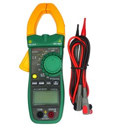 MS2026 Digital AC Current Clamp Meter Auto Range resistance / capacitance / frequency Clamp diameter: 40mm #Affiliate