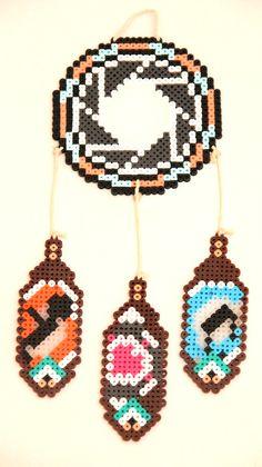 Portal Dream Catcher Perler Beads by ThatsTheBeadsKnees