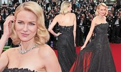 Naomi Watts steps out at the Cannes premiere of Mad Max: Fury Road