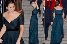 William and Kate in New York: Duchess wows crowds in teal Jenny ...