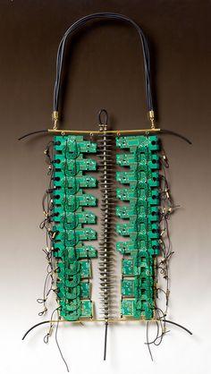 Art Jewelry, Christine Dhein, Artist, 21st Century Breastplate