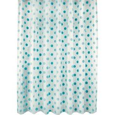 Buy Polka Dot Shower Curtain - Blue at Argos.co.uk, visit Argos.co.uk to shop online for Shower curtains and poles