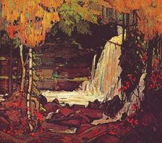 Tom Thomson, Woodland Waterall--my favourite artist and my favourite fall painting :)