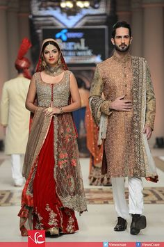 Aisha imran collection at telenor bridal couture week 2014 – Fashup Pakistani Couture, Pakistani Wedding Dresses, Pakistani Outfits, Indian Couture, Indian Outfits, Pakistan Bridal, Walima Dress, Desi Bride, Couture Week