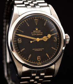 Rolex Explorer - my favourite watch these days.