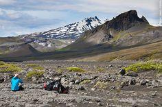 Trek Landmannalaugar, Eyjafjallajökull