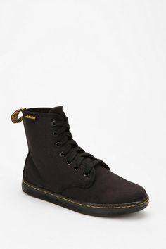 Dr. Martens Canvas Shoreditch Boot  #UrbanOutfitters these are SO great. must be SO comfy.