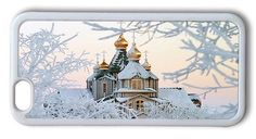 Durable iPhone 6 Case Cover, Russian Church In Winter Case for iPhone 6 4.7inch - TPU White. Designed for the Lastest iPhone 6(4.7inch), NOT for Apple iPhone 6 Plus(5.5inch). Durable TPU Materia. Access to all ports, controls & sensors. Create a custom case with your favorite photos and designs. Thermal transfer, Photo Printed in the plastic plate.