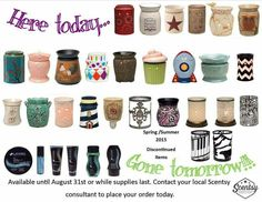 Lynscents.scentsy.us Shop and save while supplies last .