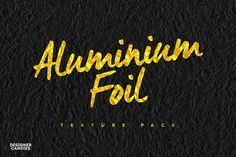 A set of 11 free aluminium foil textures pack. Created using scans of regular kitchen tinfoil, you can now add a high resolution foil texture to your work in seconds.