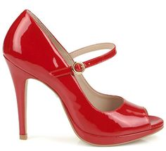 Buffalo's Addison    Red patent Mary Janes <3    £101.99