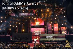 Mark your calendars! The 56th GRAMMY Awards will be Jan. 26, 2014 on CBS
