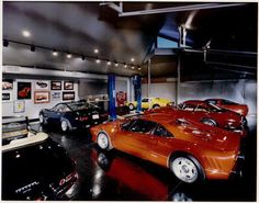 Dream garage for Peter