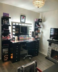 14 best makeup shelves images lowboy bath room bedrooms rh pinterest com