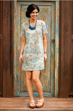 Frida Batik Dress | Knee length dress | batik dress | Indonesia | shopgofish.com