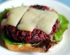 Beet and Bean Burger