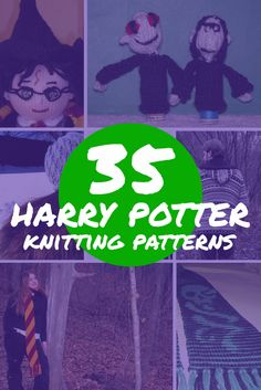 There are few fandoms that are as old, but still as popular as the Harry Potter fandom. These 35 free Harry Potter knitting patterns are quality work. via @knitting4nerds
