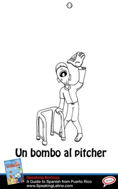 "UN BOMBITO AL PITCHER: Puerto Rican Spanish Expression | something really easy to do, a ""freebee."" #SpanishSayings #PuertoRico"