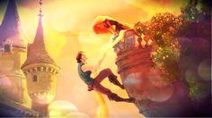 Flynn and Rapunzel - Tangled