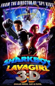Sharkboy and Lavagirl. And they laughed when I fell in love with Sharkboy. well, their loss, Girl's Rule: I saw him first. Fiction Movies, Top Movies, Disney Movies, Movies To Watch, Really Good Movies, Great Movies, Awesome Movies, Internet Movies, Movies Online