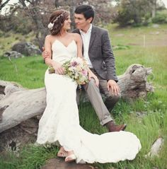Carissa on her wedding day looking beautiful in our Poipu gown XO Katie May