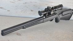 Ruger American Target Rifle .22 and Silent-SR Suppressed Barrel | Down Range TV