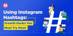 Using Instagram Hashtags: Growth Hacks You Must Try Now! - Mohini Singh Famous Hashtags, Instagram Hastags, Bookmarking Sites, Get More Followers, Growth Hacking, You Must, How To Run Longer, Helping People, Instagram Story