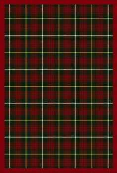 Red Plaid Rug Home Decor
