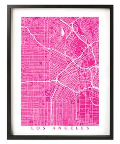 """Whether you choose the city you're currently in, your hometown, or just a dream destination, hang one of these prints on your wall—you can't go wrong with a map as decor. This Etsy shop features maps of cities from all over the United States and the world. Select your print size (as small as 4"""" x 6"""" up to 36"""" x 48""""), and choose from 70 color options."""