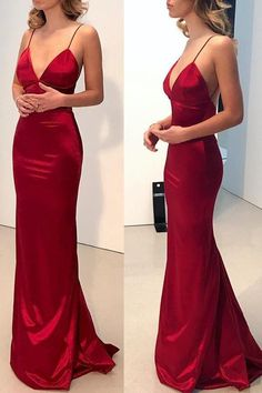 Fancy Long, Red, Backless, Mermaid - Red Prom Dress Long Prom Dress Prom Dress Simple Red Mermaid Prom Dress Prom Dress Backless Prom Dresses Long Source by littlewitchleia - Evening Dress Long, Mermaid Evening Dresses, Red Evening Dresses, Red Mermaid Dress, Evening Party, Evening Gowns, Evening Cocktail, Backless Prom Dresses, Satin Dresses